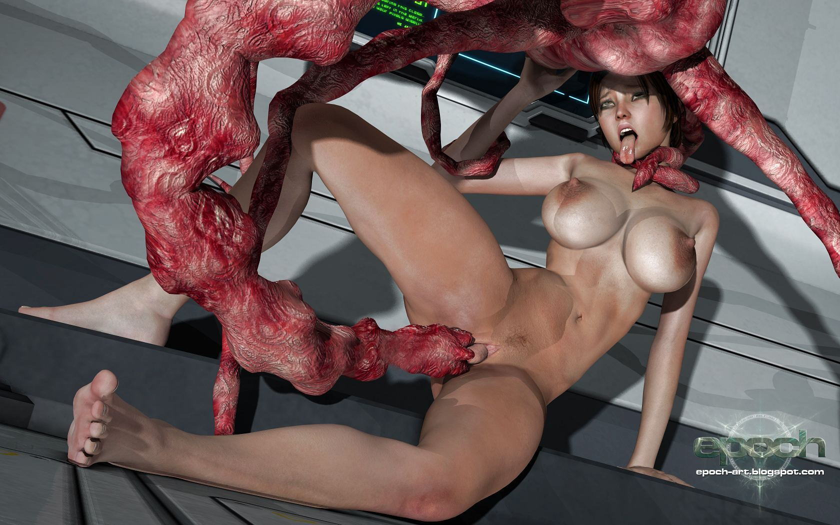 Porno monster 3d monsters