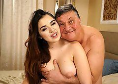 Mad M. recommend best of grandad Busty
