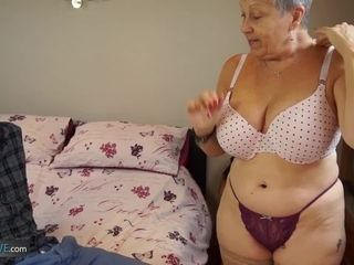 best of Tits big latina Granny with