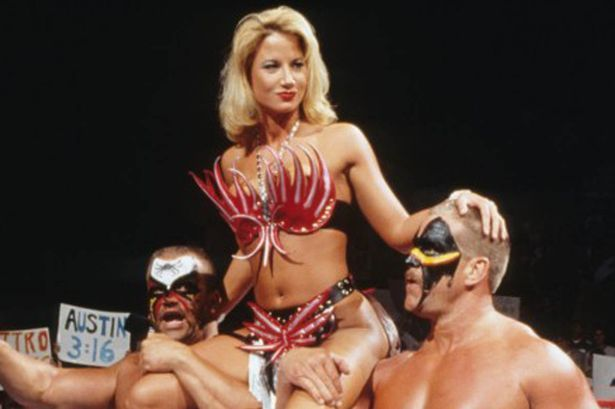 Fourth D. reccomend Wwf wrestling ladies porn images