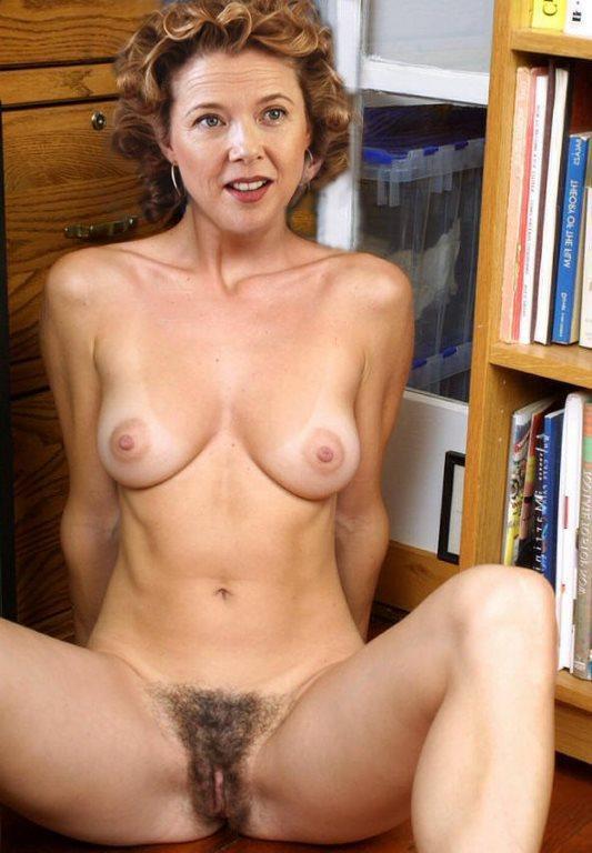 Annette Bening  nackt