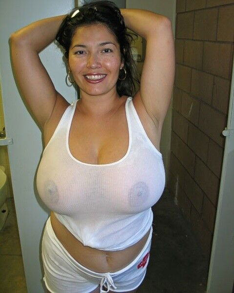 best of Tits girl her Hot mexican nude holding