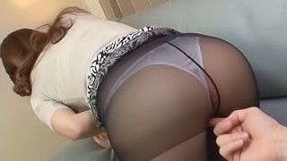 best of Asian ass Tight pantyhose