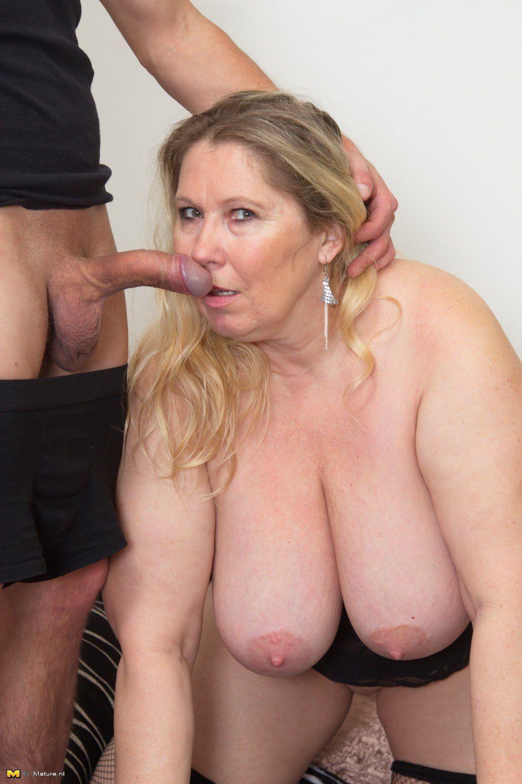 Tits older big Asian